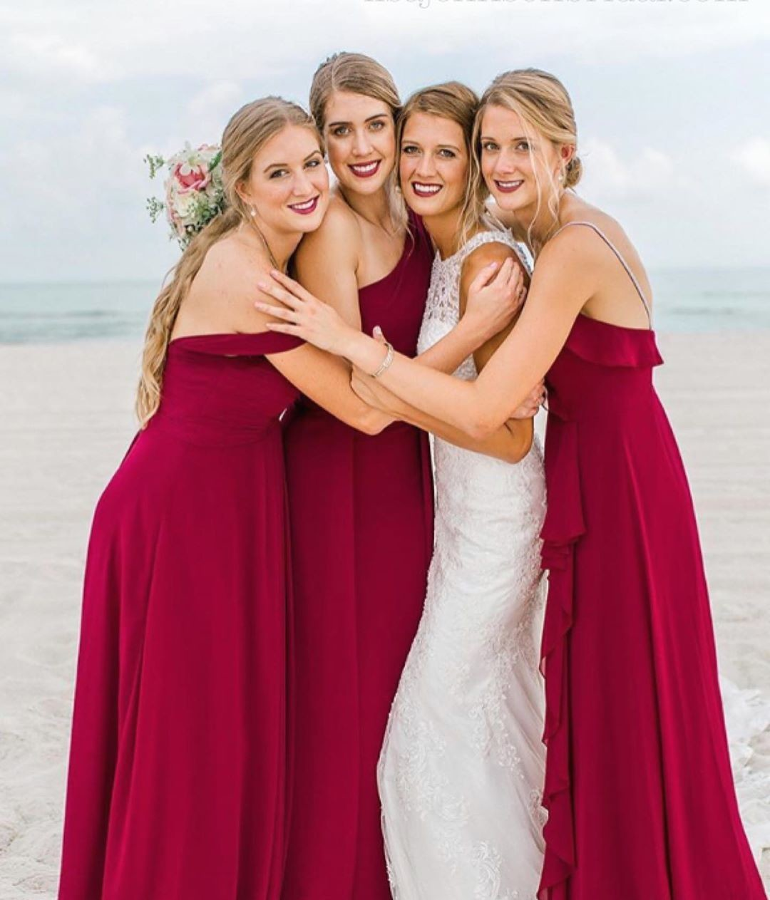 these beautiful girls & lovely bride @amber_l_boone27