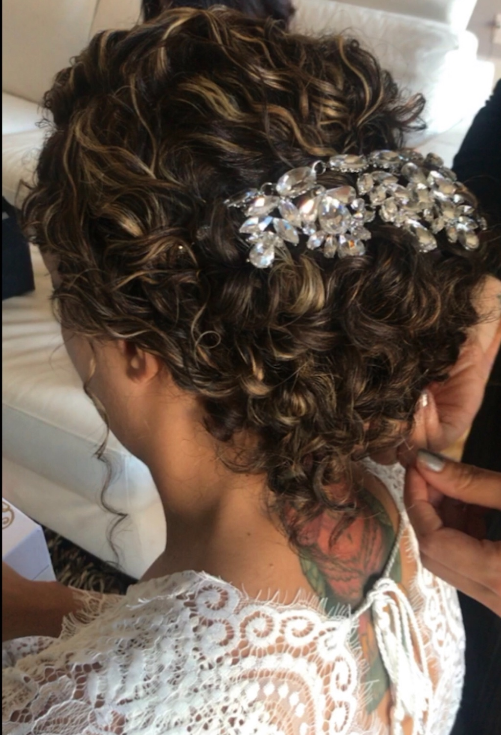 We believe in curls especially on your wedding day❤️