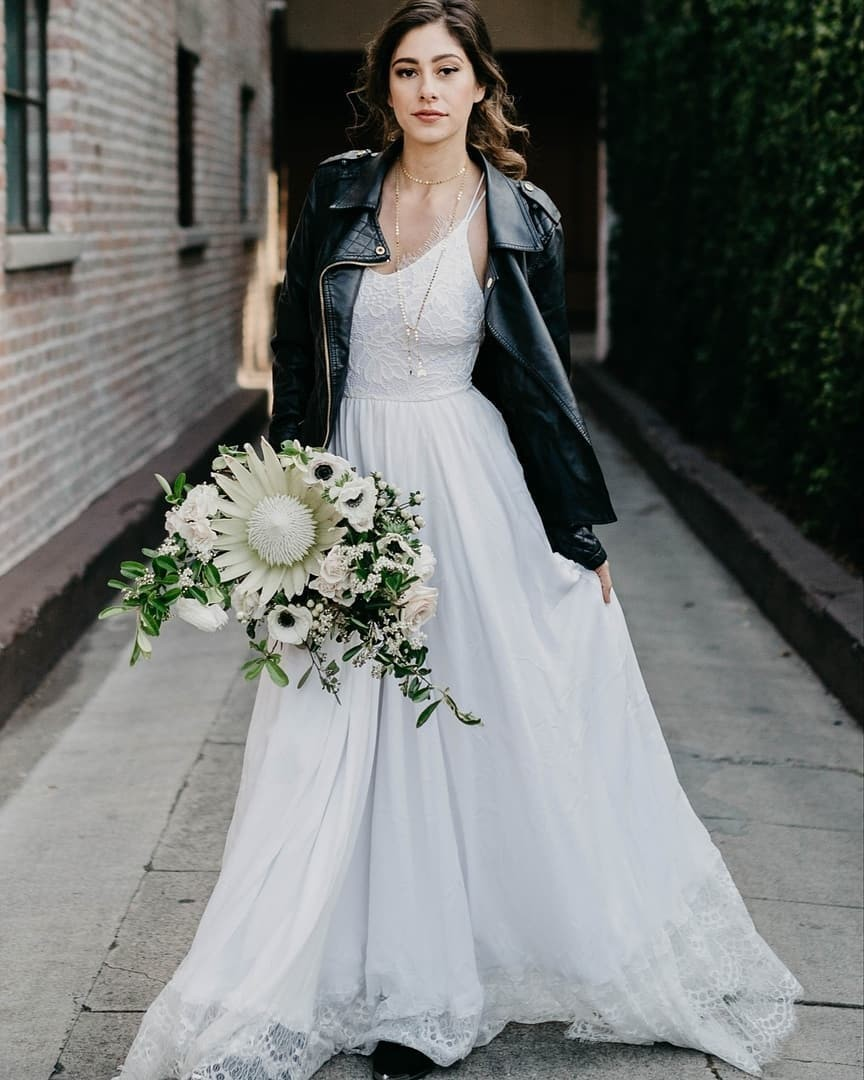 Do your wedding your way! The Penelope dress styled just right by