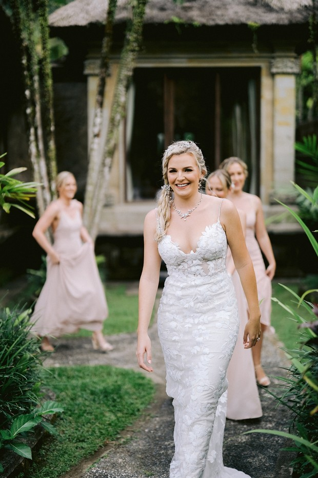 bride ready for her wedding day