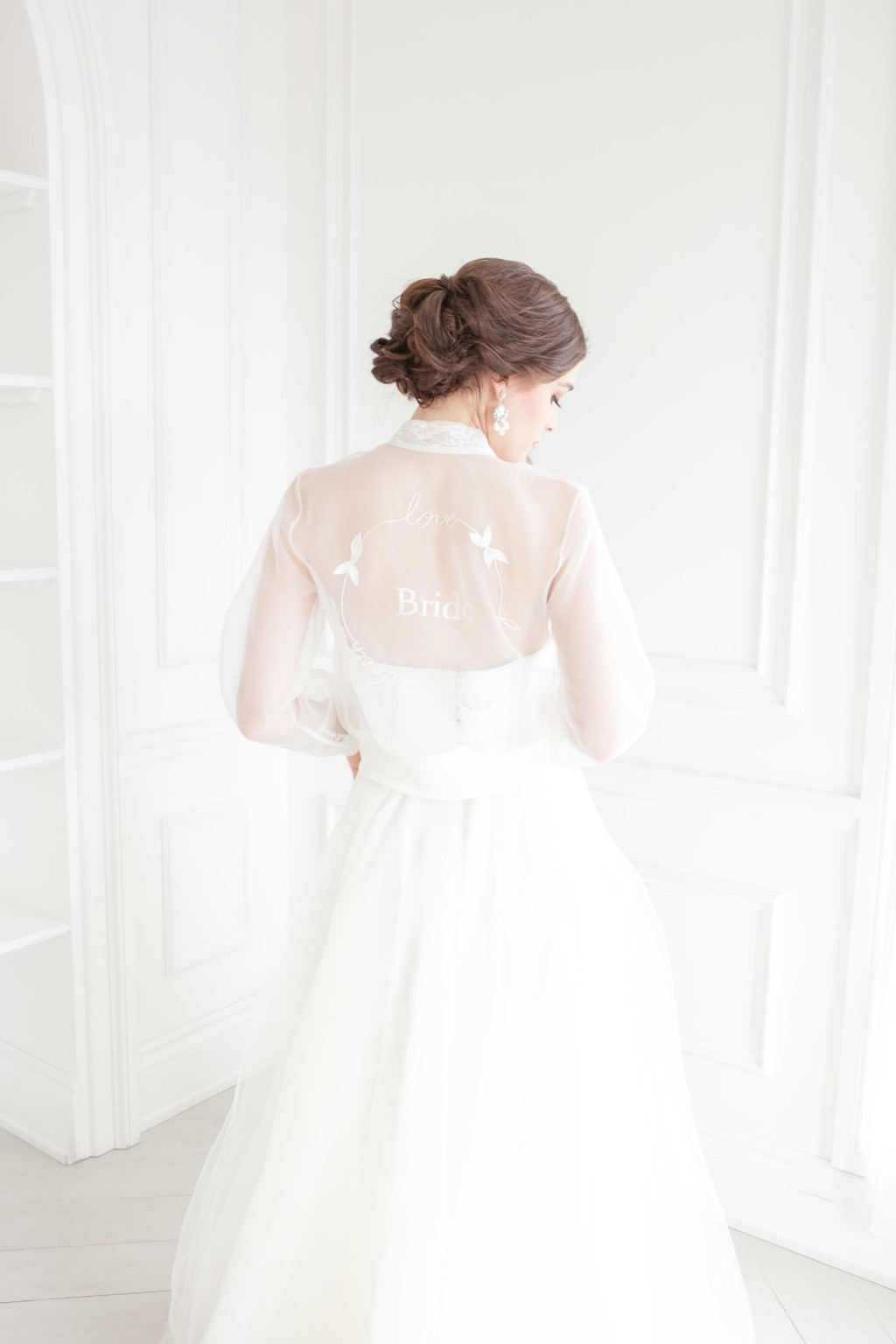The amazing bridal jacket is from our 2020 collection!!! Get excited!!