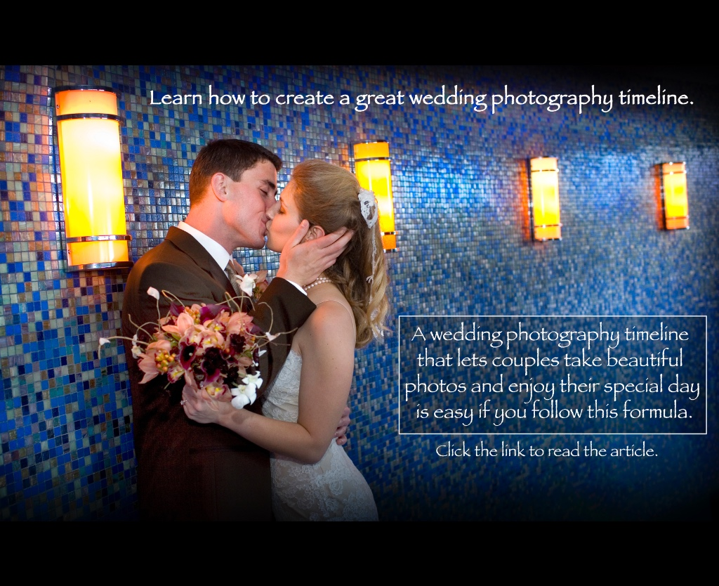 A must read if you are planning a wedding and need to create a photography timeline.