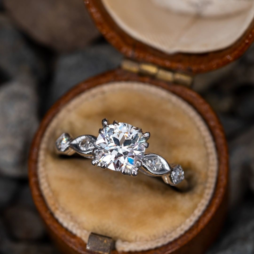Authentic Vintage Engagement Ring
