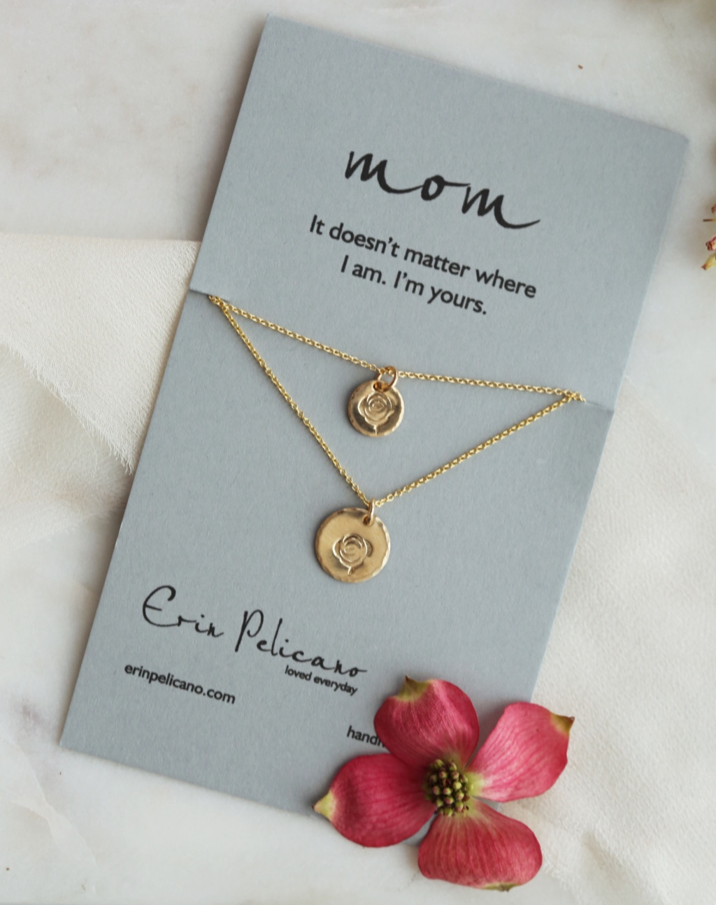 Visit our best selling Mother Daughter necklace and jewelry collection