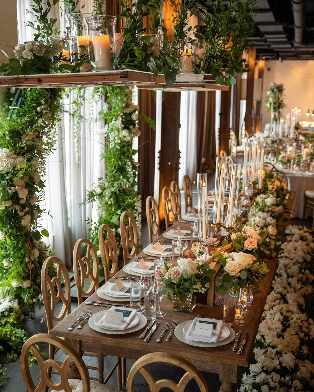 Gloriously, gorgeously garden. Loved this beauty of a brunch wedding that we brought to life back in July. Every time I see this photo