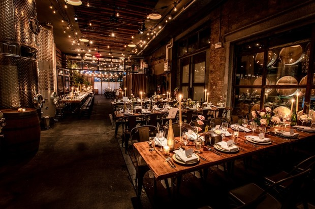 You Don't Have to Be a Wino to Wanna Wed at Brooklyn Winery