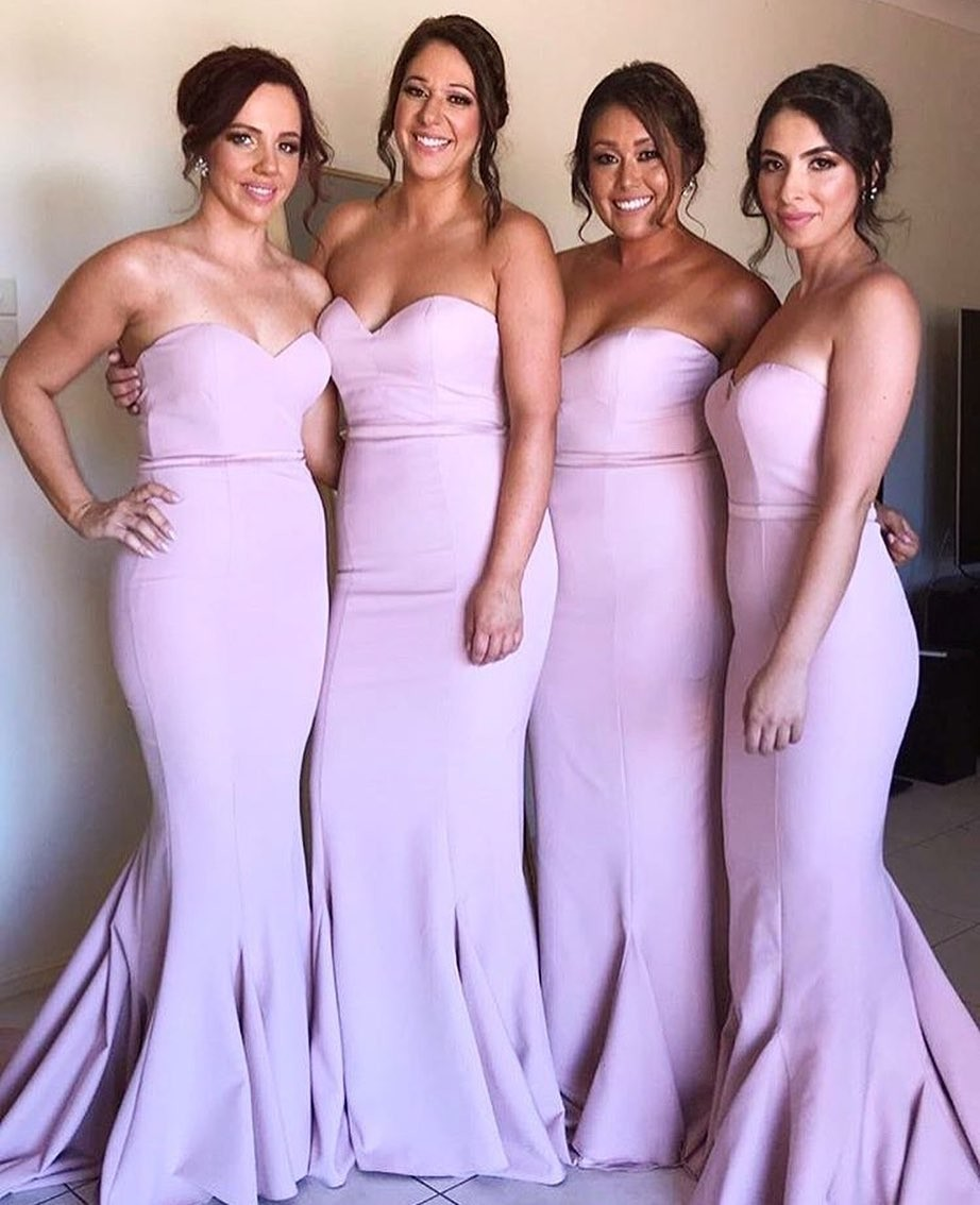 Need bridesmaid dresses ASAP? Our Blush Arianna Dress is now in stock! AU sizes 6 - 16 💕