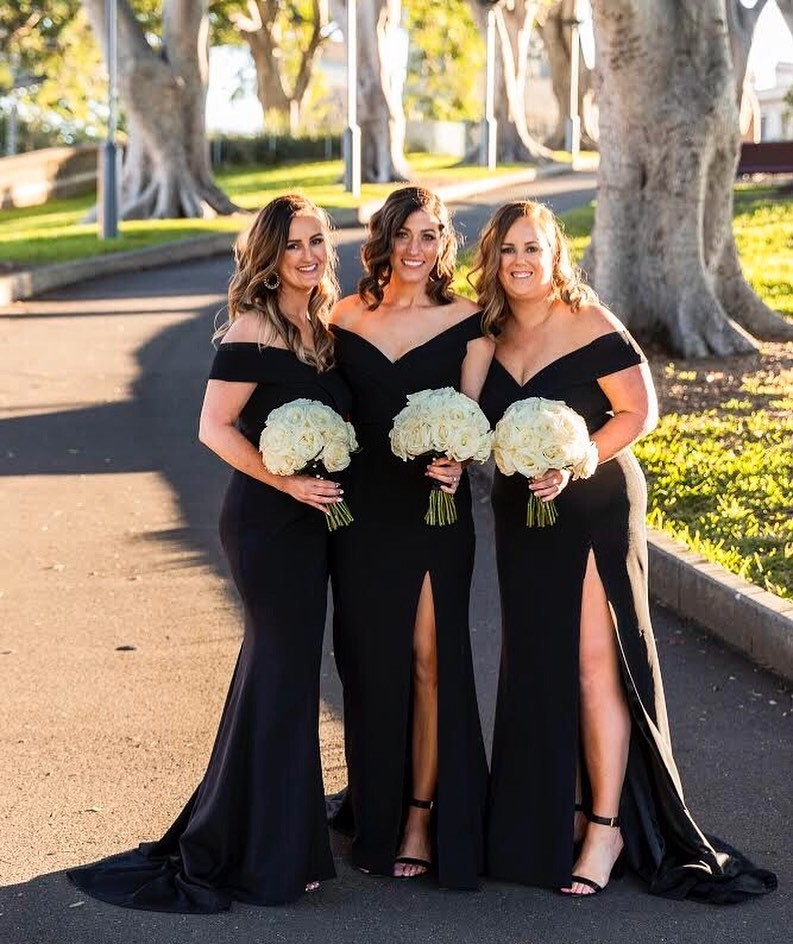 Real Runway // Nicole's gorgeous #bridesmaids in