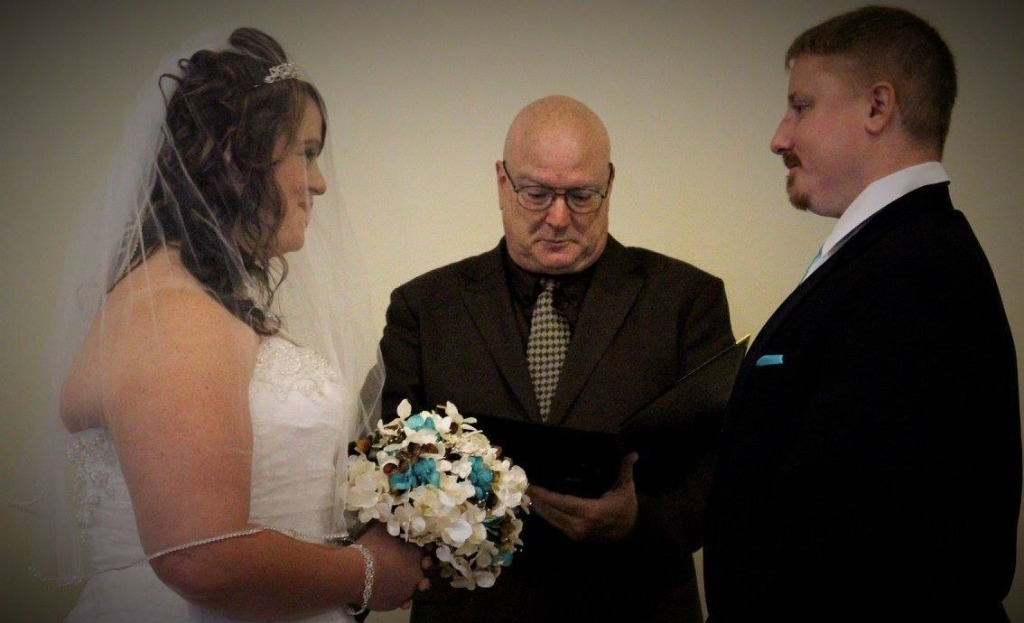 I've been performing weddings for over 25yrs & I've always just accepted a donation in an amount the couple chooses.