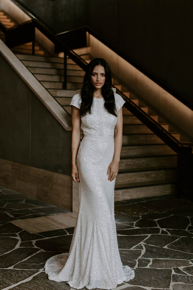 LUXE Luna Bridal Collection From Karen Willis Holmes