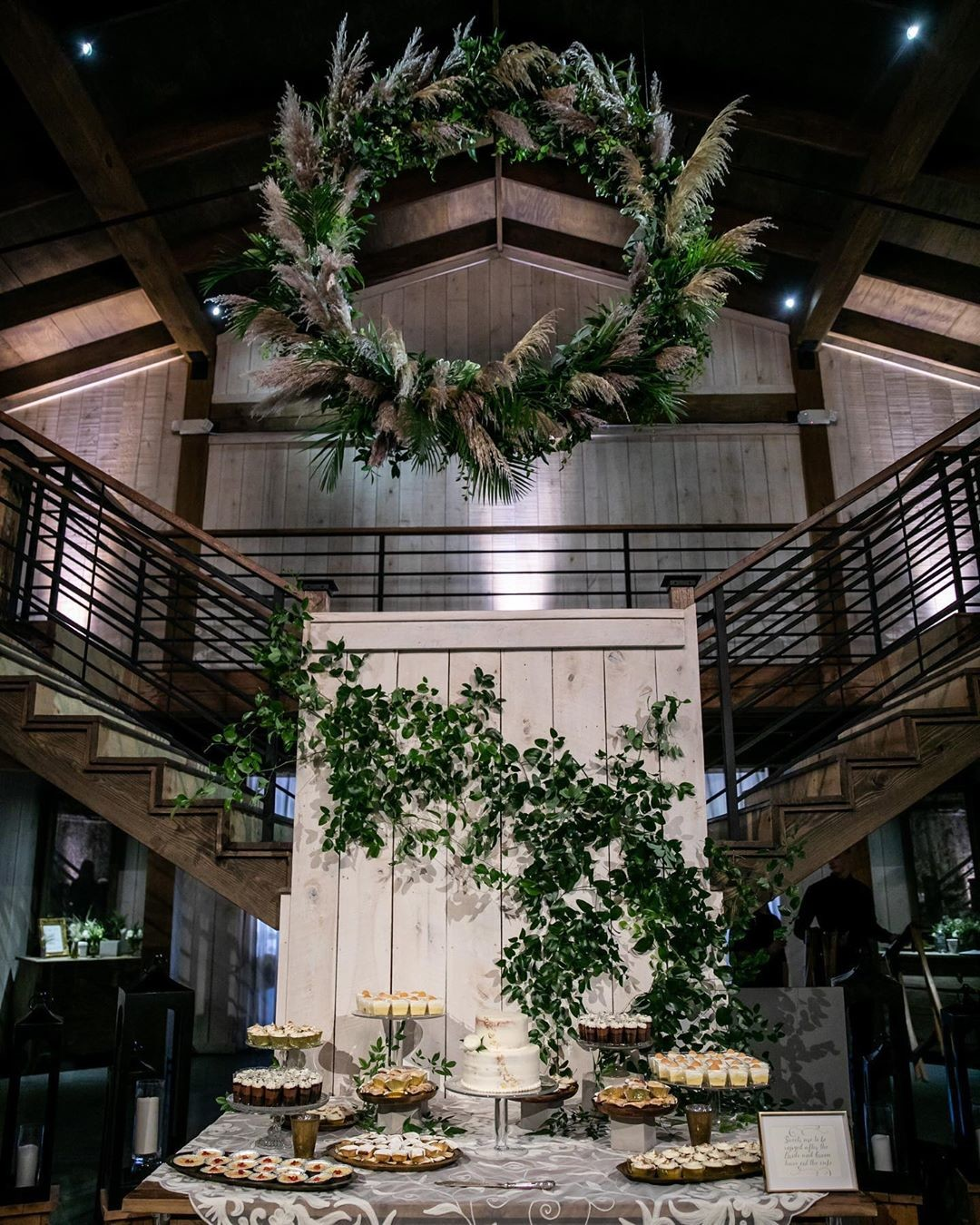 If you were left breathless yesterday with the ceremony shot, we encourage you to sit down before peeking on the inside of the venue