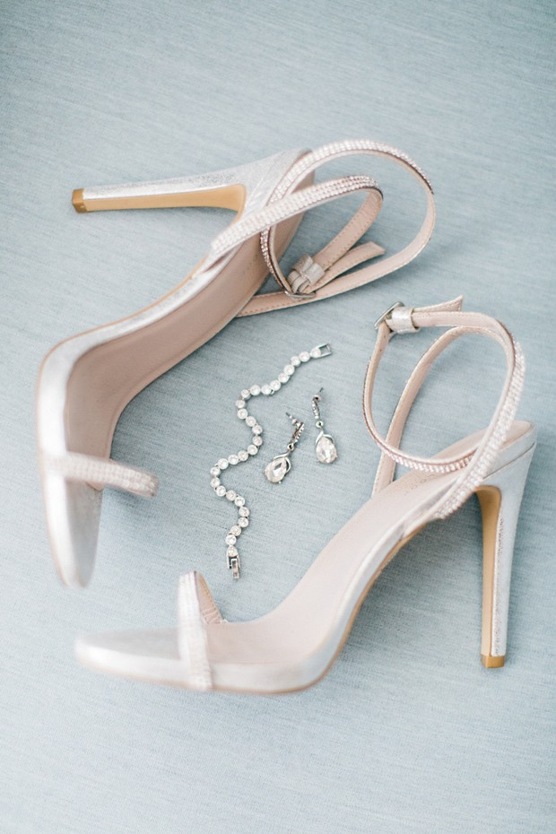 wedding shoes ad jewelry