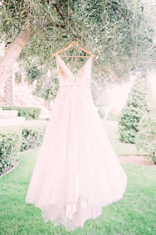 wedding dress by Willowby Watters