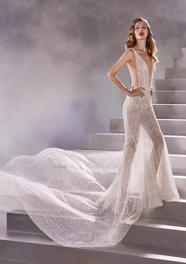 CONSTELLATION Atelier Pronovias gown