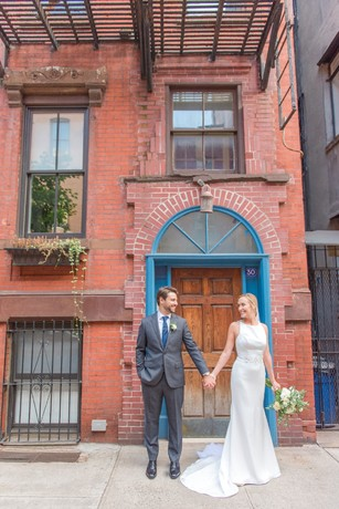 sweet new york city wedding photos