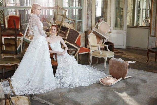 Halette and Paulette gowns by Sareh Nouri
