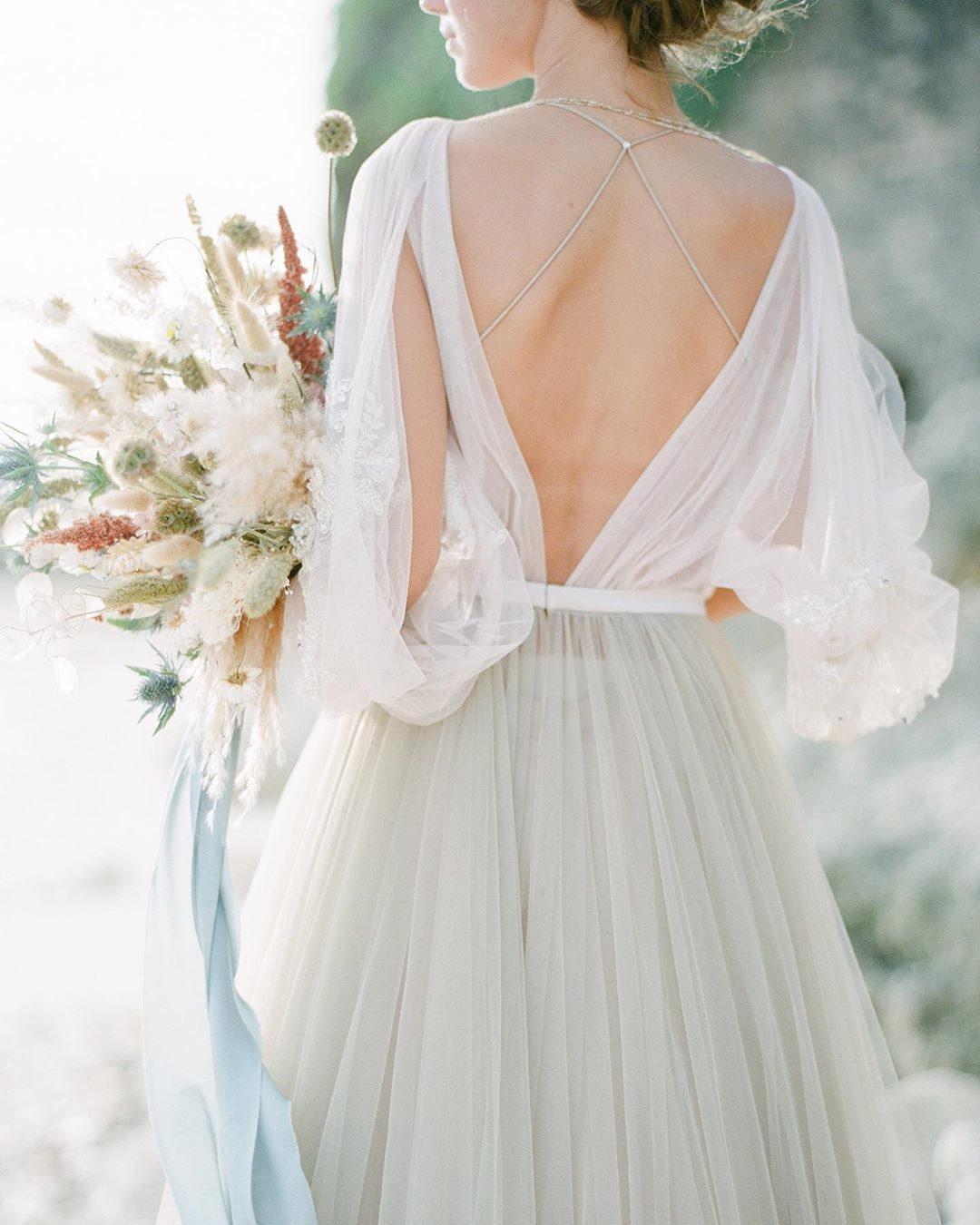 Our recent feature at @weddingsparrow is a tribute to dreaminess