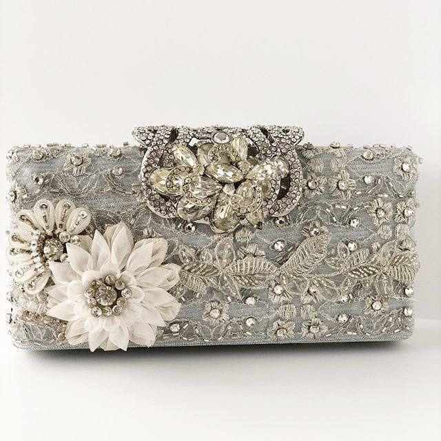 Statement making clutches!! #bridalclutches