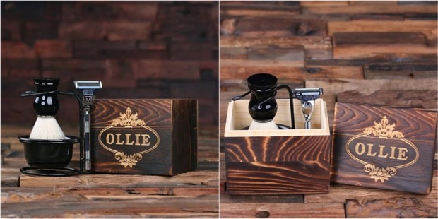 Groovy Groomsmen Gifts Shaving Kit