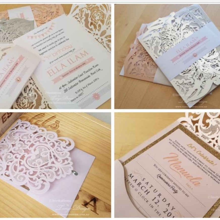 For those asking about other events.... I have just made a NEW page for EVENT invitations (birthday, business, christening, parties