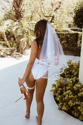 Rock Your Bachelorette Party Poolside In Palm Springs