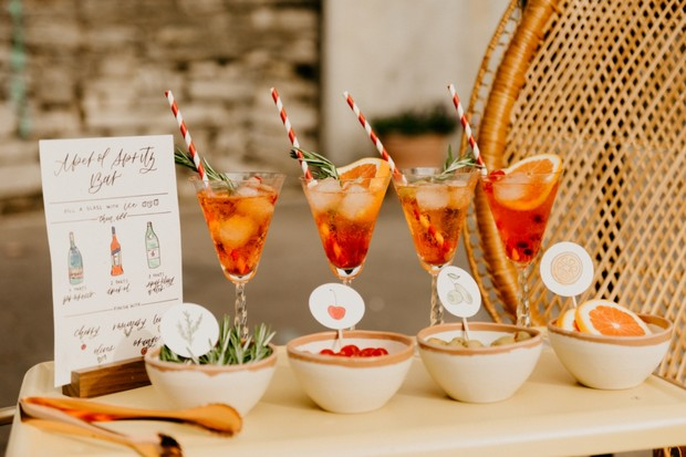 wedding coctail ideas