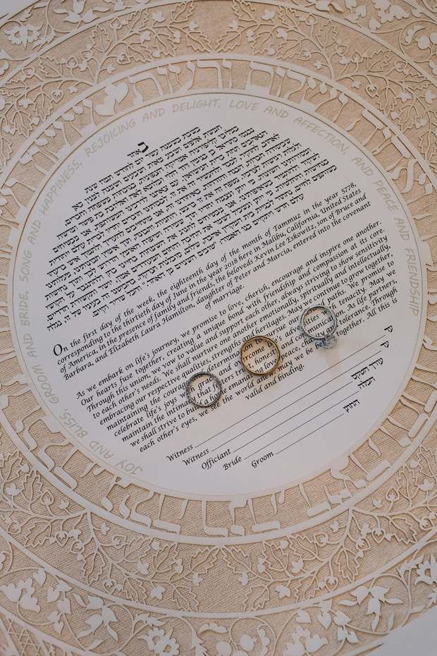 the jewish marriage license