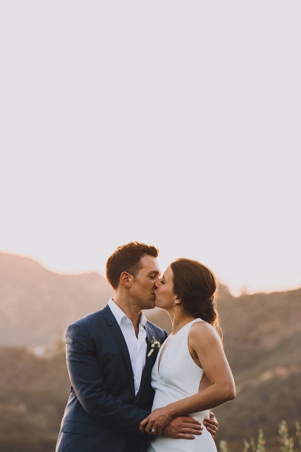 Fresh And Modern Rustic Chic Wedding In California