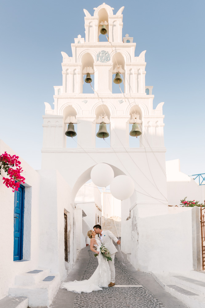 Mr & Mrs, Couple photo - shooting, Santorini, Greece!