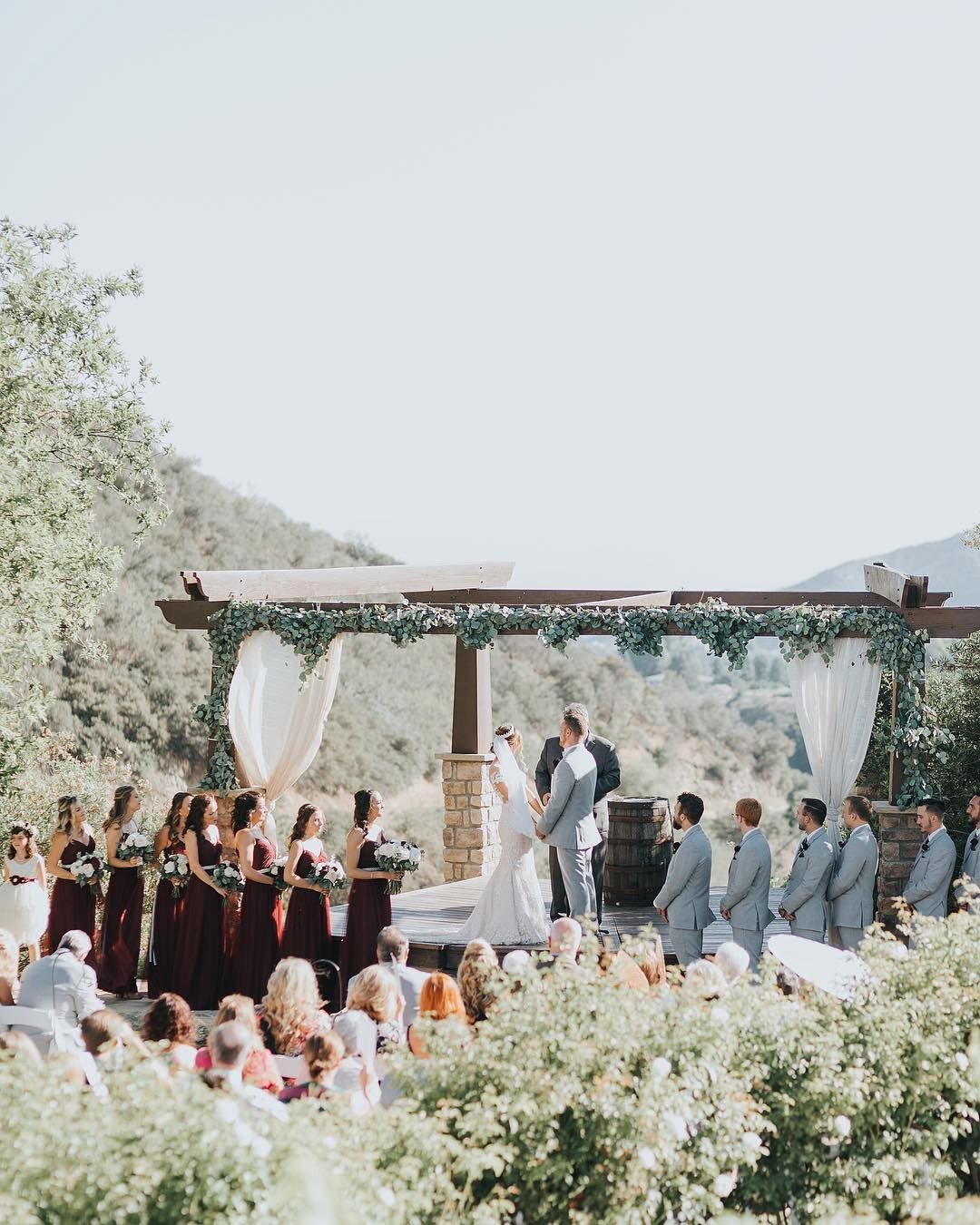 ceremony view goals at @serendipity_weddings 🙌🏻