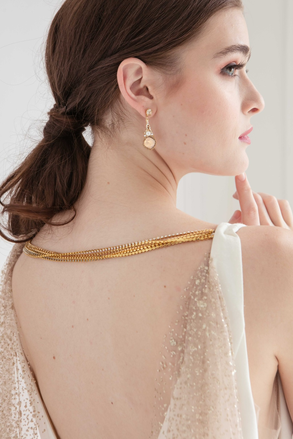 Wedding inspiration for bridal jewelry from Laura Jayne.