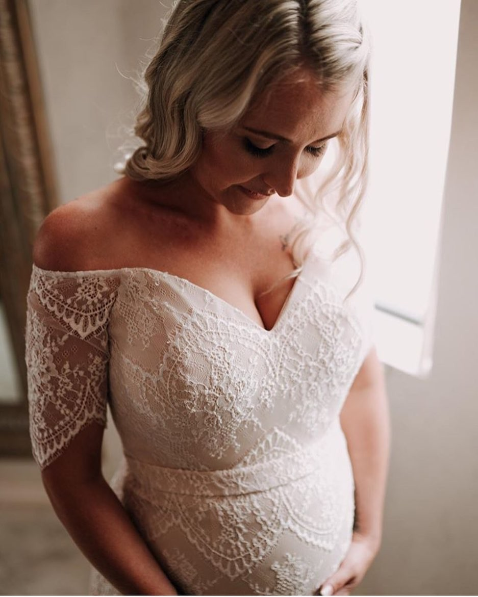 Beautiful 😍😍 #bride in our Isidora Gown 📷