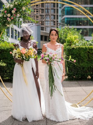 Luxurious Rooftop Wedding Ideas In Canada