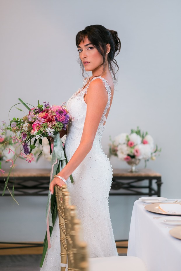 wedding style for your glam wedding