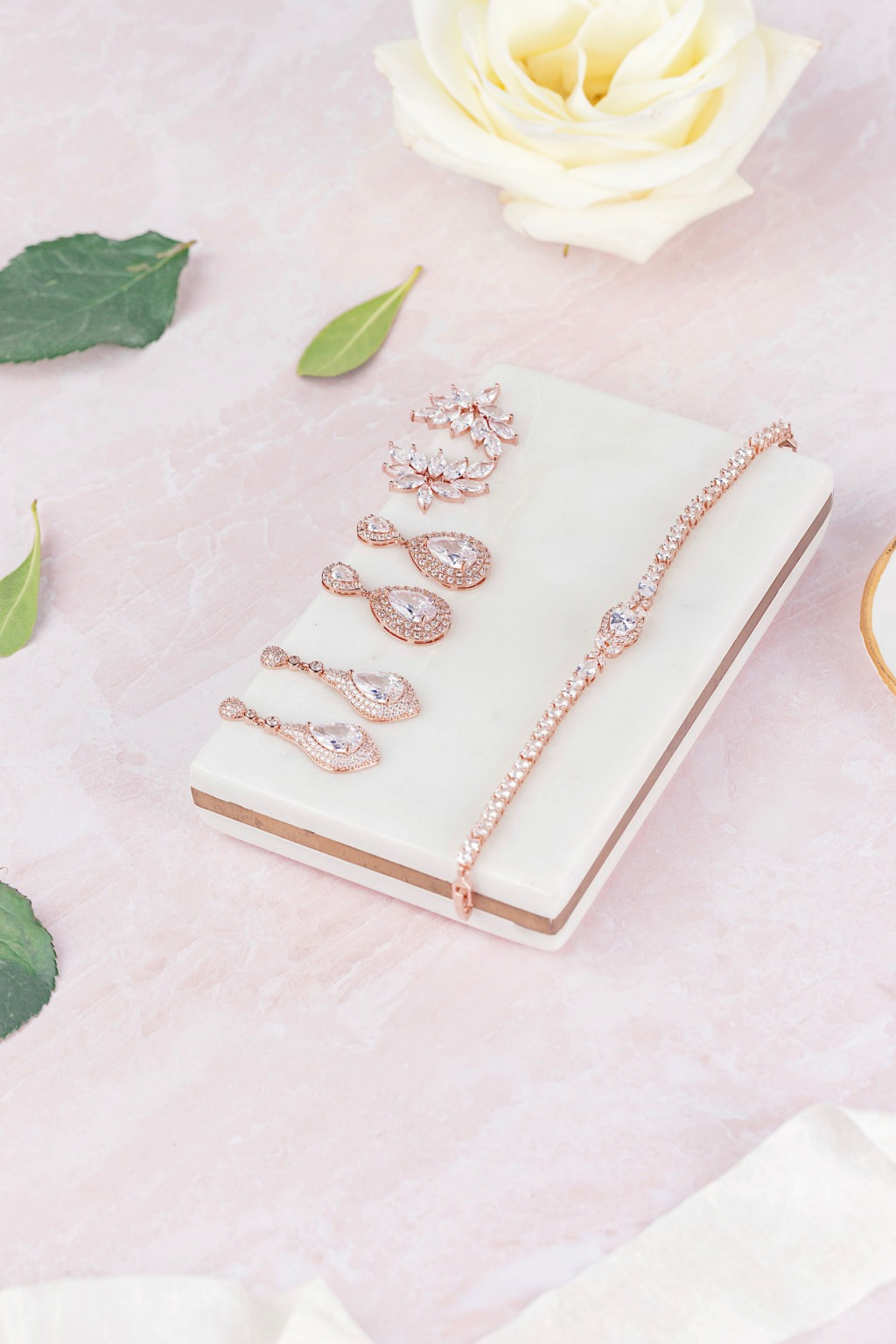 Shop at Wink of Pink Shop for gorgeous wedding jewelry for the modern bride. Whether you're looking for to add a little sparkle to