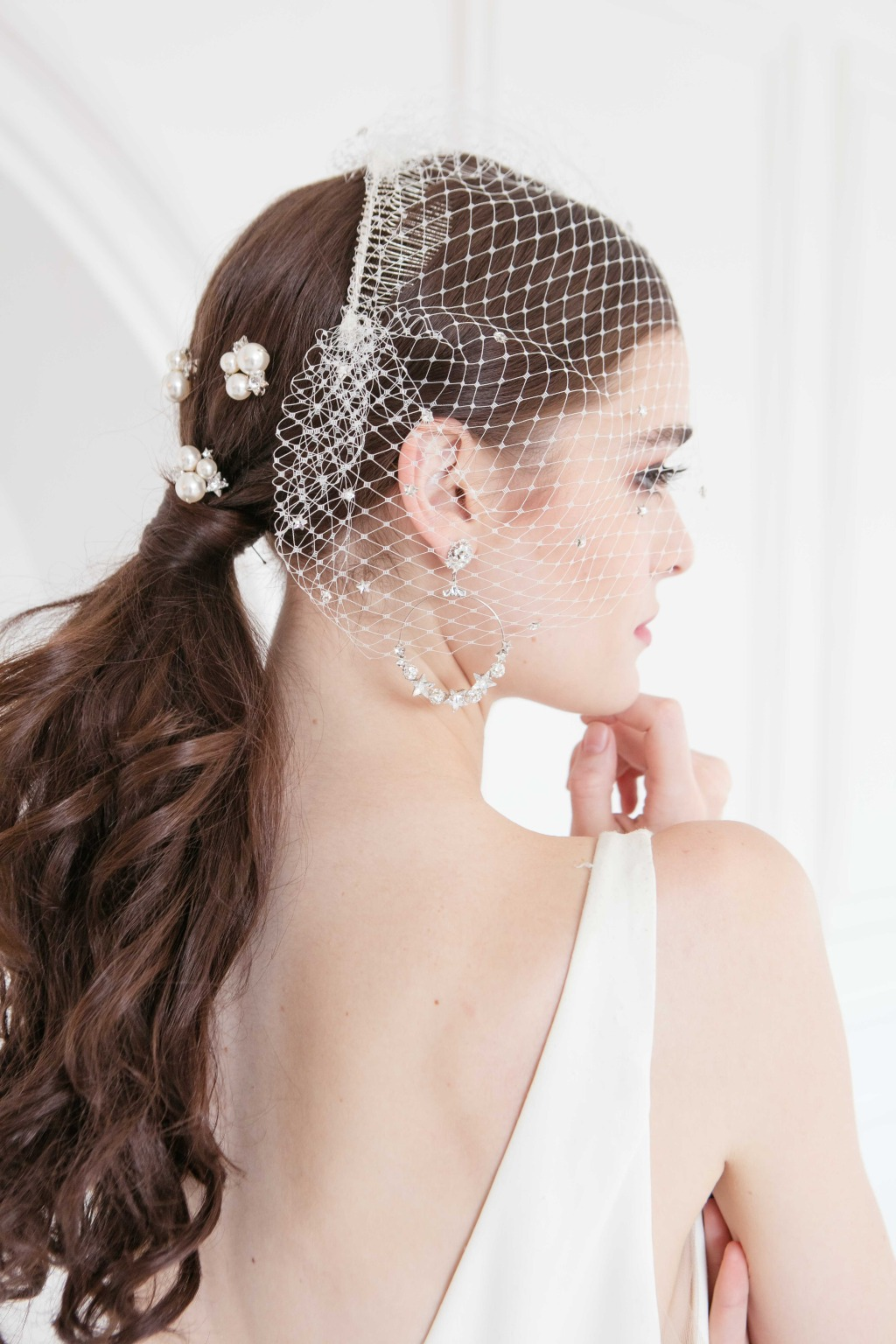 The delicate bridal hair accessories are perfect for your big day! Explore more amazing wedding accessories from our 2020 collection