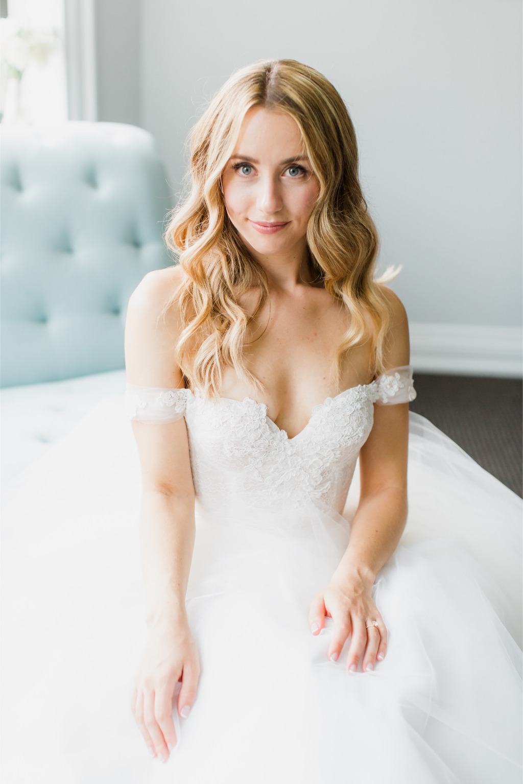 Custom Lea-Ann Belter gown created for Kaya at our Toronto boutique | photographer: ALBM Photography | month of coordinator: Lisa K