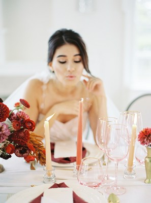 A Modern Contemporary Fairytale Wedding Inspiration
