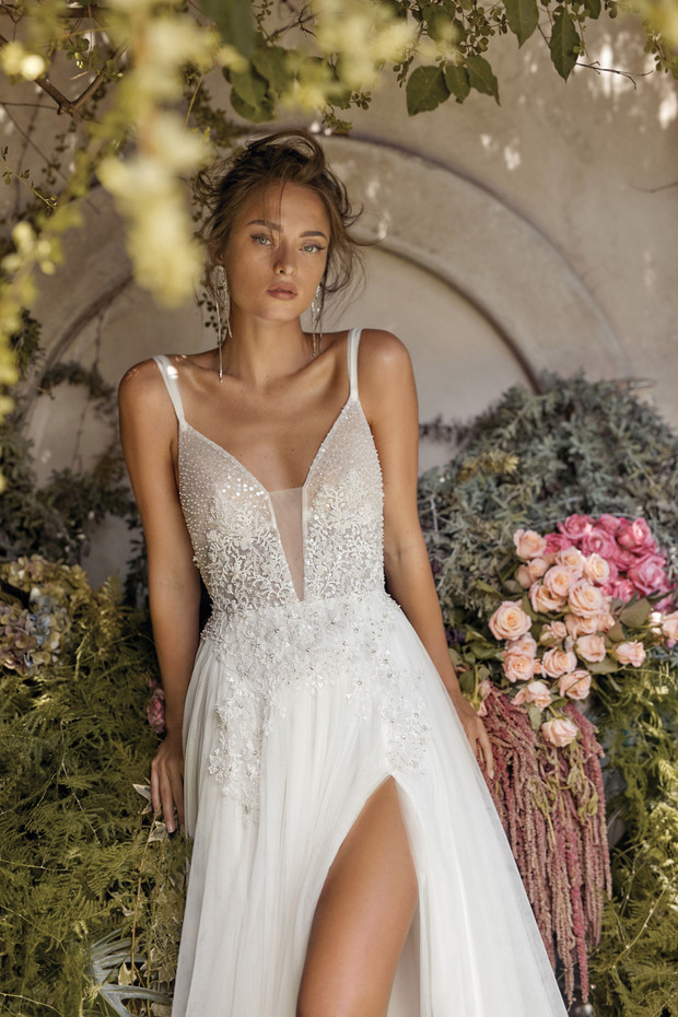 Lihi Hod Fall 2020 Bridal Collection White Blossom