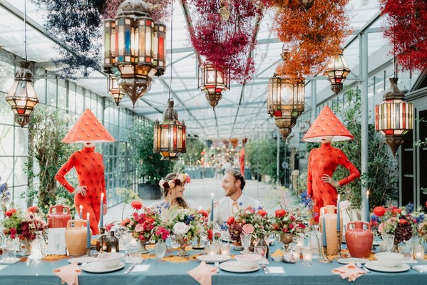 A Colorful Moroccan Wedding That Brings The Destination To You