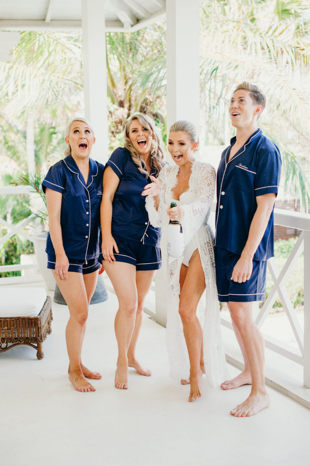 Hannah Polites pre-wedding celebrations with her b