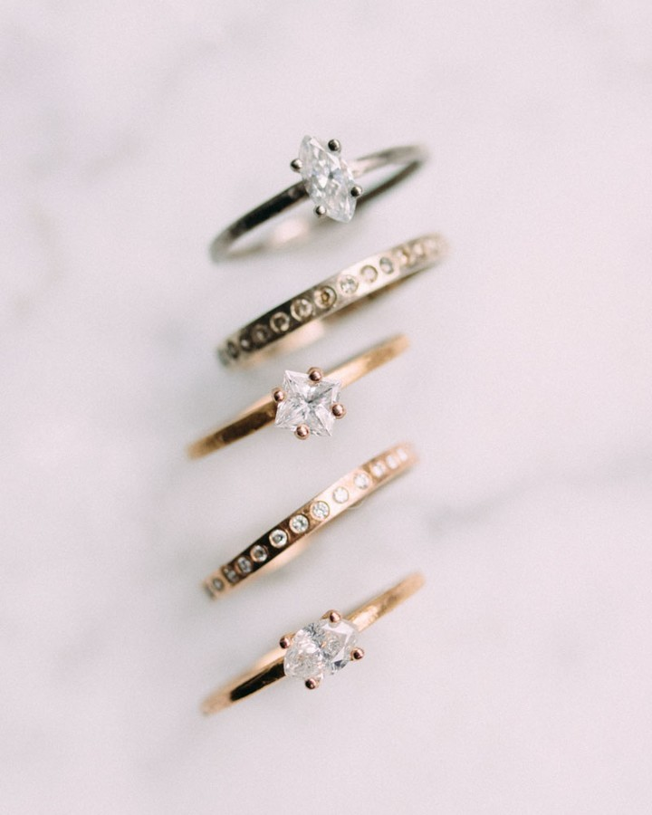 'Tis the season of YES! Don't wait to the last miniature to get your dream ring. Staring off Monday with a shine.⠀⠀⠀⠀⠀�