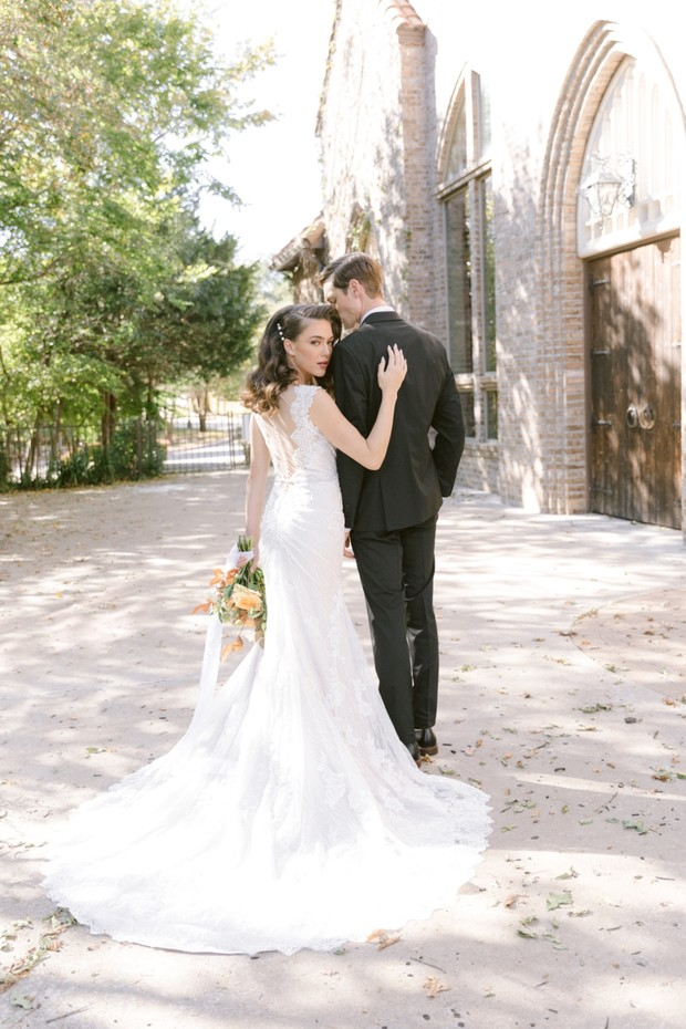 Spring wedding in Texas