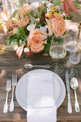Elegant And Organic Wedding Inspiration For Spring