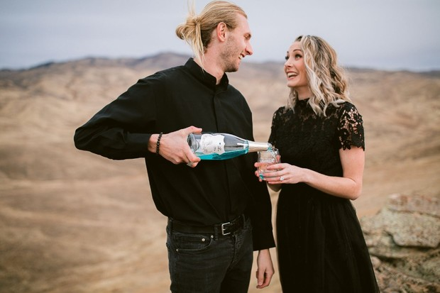 Sparking Wine For Your Engagement Celebration