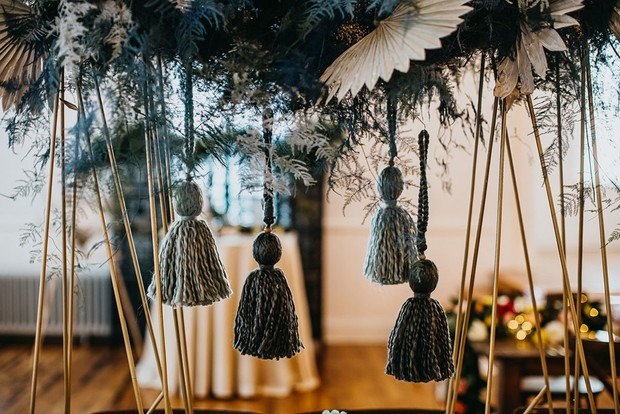 tassels for your centerpiece