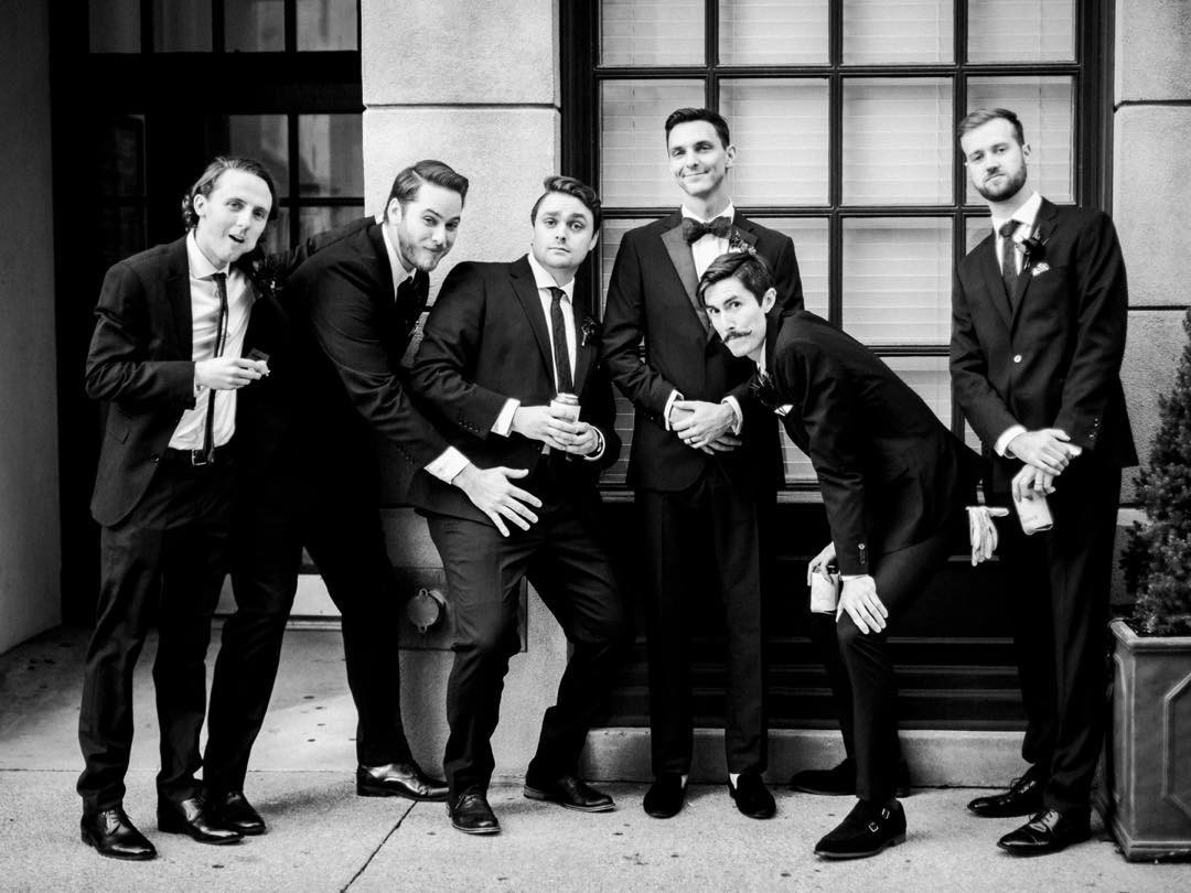 Groomsmen just want have fun!