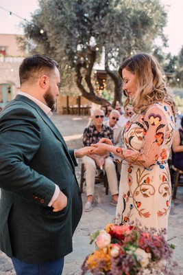 Fun And Funky Colorful Wedding In Greece