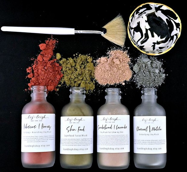 shop clay face mask kit