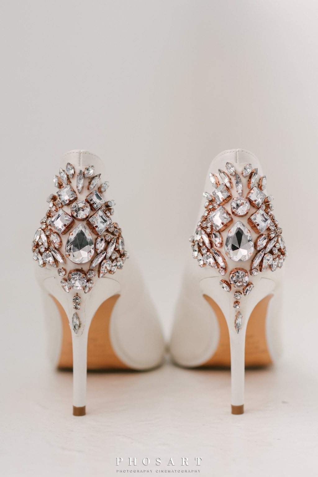 Bridal Shoes, Wedding Day!
